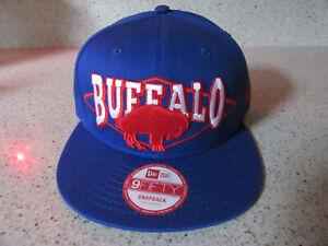 NWT- NEW ERA Adjustable-Small-Medium- 9FIFTY BUFFALO BILLS NFL -HAT/CAP