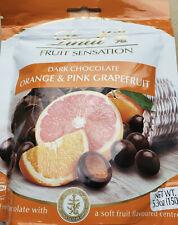 Lindt Fruit Sensation Dark Chocolate Orange & Grapefruit Bag 150g