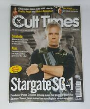 Cult Times Magazine #93 Stargate Sg-1 Smallville Alias June 2003