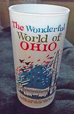 2 Wonderful World of Ohio glasses air force and state capital