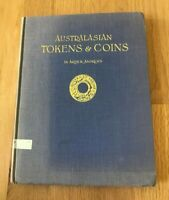 Australasian Tokens & Coins by Dr Arthur Andrews - Reprint 1965