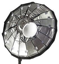 80cm Folding beauty dish, Silver, Elinchrom fitting