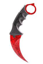 Counter Karambit CRIMSON WEB GO Skin Real Knife CS Strike Messer CSGO ARI Knives