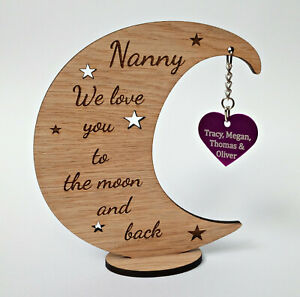 Personalised Mother's Day Gift - Love you to the moon and back