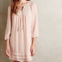 NEW Anthropologie Carraroe Peasant Dress by One September  Size S /& M