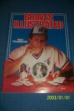 1980 ATLANTA BRAVES Yearbook BOBBY COX Bob HORNER Dale MURPHY Free POSTER Inside