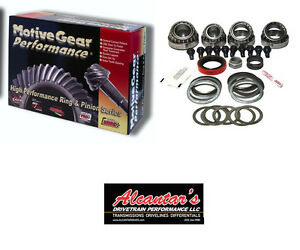 2008-2009 Pontiac G8 3.90 Ring & Pinion Gears GZ85390 + Master Kit Package Deal