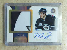 11-12 Dominion Horizontal Autographed Rookie Patch RC #200 MARK SCHEIFELE /55