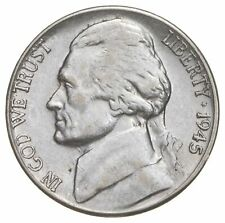 5c BU Unc MS 1945-S Jefferson WARTIME Silver Nickel *650