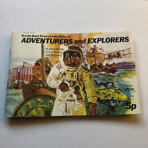 Brooke Bond Tea Cards - Adventurers and Explorers (Complete Set)