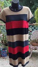 Calvin Klein Regular Size Striped Dresses for Women