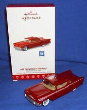 Hallmark Ornament Keepsake Kustoms #3 2017 1958 Chevrolet Impala Custom Car Nib