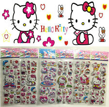Stickers-Lot disney figures!hello Kitty Stereoscopic Kid favor Birthday gift hot