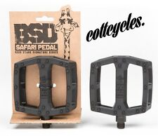 NEW! BSD SAFARI PEDALS BMX 9/16 BLACK
