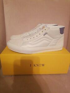 Size 12 Vans Skate Mid Skool Dime LTD (Off-White) In Hand New VN0A5KQY5VK