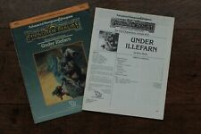 Under Illefarn Forgotten Realms AD&D 1st Edition Module TSR 9212 N5 1987 Fair