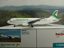 Herpa Wings Bulgaria Air Airbus A320 LZ-FBC 1:500 504744 *sehr selten*