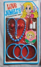 LOVE JEWELRY COSMETIC SET VINTAGE RACK TOY MOC HONG KONG