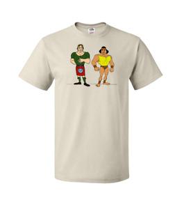 Rowdy Roddy Piper Jimmy Superfly Snuka Hulk Hogan's Rock n Wrestling T-Shirt WWF