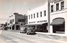 1930s RPPC Rexall Drug Store Old Cars Atlantic Ave Delray Beach FL Coca Cola Sig