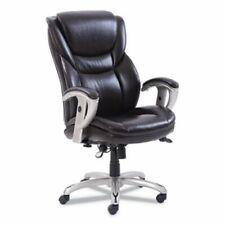 Sertapedic Executive Chair 2225 X 22 X 22 Seat Brown Leather Srj49710brw