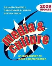 NEW - Media and Culture with 2009 Update: An Introduction to Mass Communication