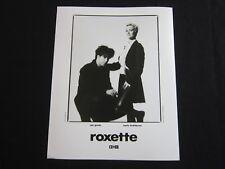 ROXETTE—1991 PUBLICITY PHOTO*
