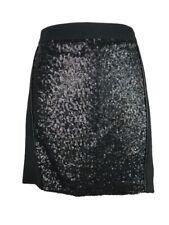Kensie New Mini Skirt 12 Black Sequin