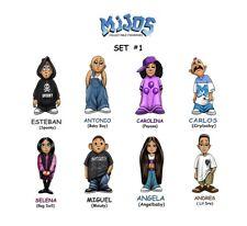 Homies **** Mijos Series 1 --- all 8 different figures - loose set