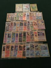 LOT OF 43 POKEMON CARDS INLCUDING EX, LV.X, HOLOFOIL AND ULTRA RARE