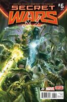 Secret Wars #6  Alex Ross Main Cover Marvel Comic 2015 NM
