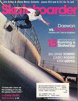 Skateboarder September 2005 Jim Greco,Steve Berra w/ML VG 070816DBE2
