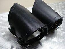 LEATHER BLACK BRACELETS.BLACK METAL... (MDLB0018)....TESTAMENT'S