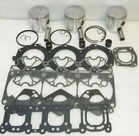 WSM Yamaha 1200 Top End Piston Rebuild Kit PWC 010-826-24 - 1mm SIZE ONLY