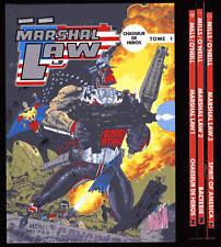 MARSHAL LAW 3 volúmenes série completa EO