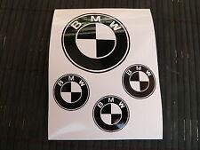 OFFERTA kit 4 adesivi BMW - X5 X6 M3 M5 123D decal sticker M6 118i 320is 330d