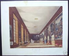 "W. H. Pyne: ""The Ball Room, Hampton Court"" 1818"