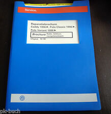 Reparatiebrochure VW Polo Classic / Variant Caddy Radio telefoon navigatiesyst.