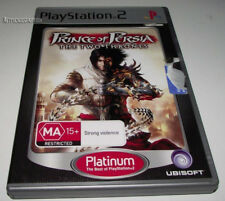 Prince of Persia The Two Thrones PS2 PAL *Complete*