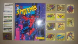 ALBUM SPIDER-MAN 1995 + SET COMPLETO STICKERS PANINI