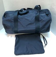Rolex Collapsible Bag Luggage & Travel Pouch Nylon Navy Italy Authentic, NEW