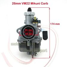 Mikuni VM22 26mm Carburetor Carb 125cc 140cc Dirt Pit Bike SSR YCF IMR PIRANHA
