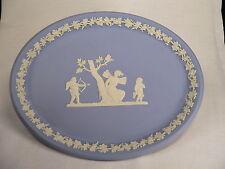 Wedgwood Jasperware - ovale Platte 25 cm