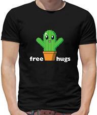 Free Cactus Hugs Mens T-Shirt - Cute - Anime - Free Hugs - Cacti