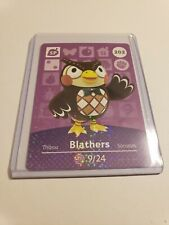 Blathers # 202 Animal Crossing Amiibo Card Horizon Series 3 MINT NEVER SCANNED!