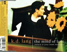 """KD LANG - 5"""" CD - The Mind Of Love (Where Is Your Head Kathryn?) (3 Track) Sire"""