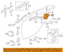 MITSUBISHI OEM 08-15 Lancer Rear Door-Lock or Actuator Latch Release 5745A304