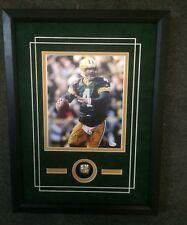 Brett Favre Green Bay Packers Framed 8x10 Commemorative w-Replica Ring