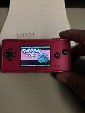 Gameboy Micro Pink (Europe)