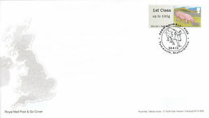 (65219) GB FDC Post and Go Pigs Tamworth 2012